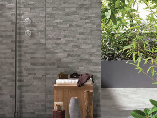 Feature Wall: Fossil Grey Mix 300×600
