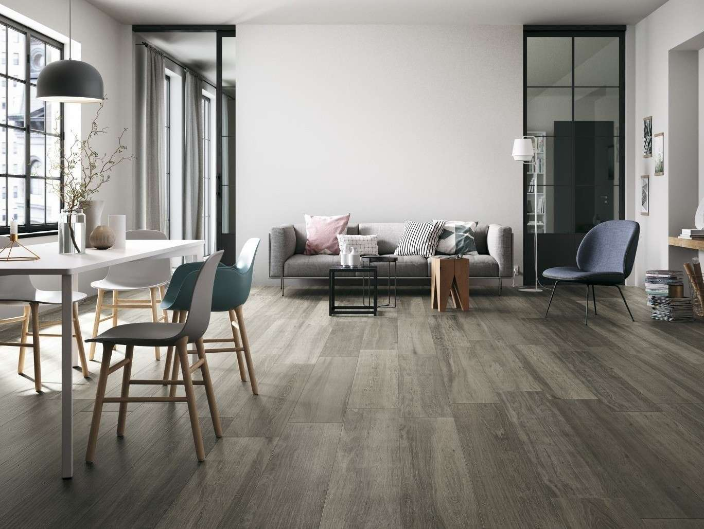 Bark Nebbia 225×900 (Also available in 75×300, perfect for patterned floors)