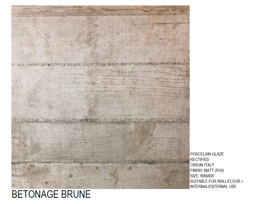 BETONAGE BRUNE