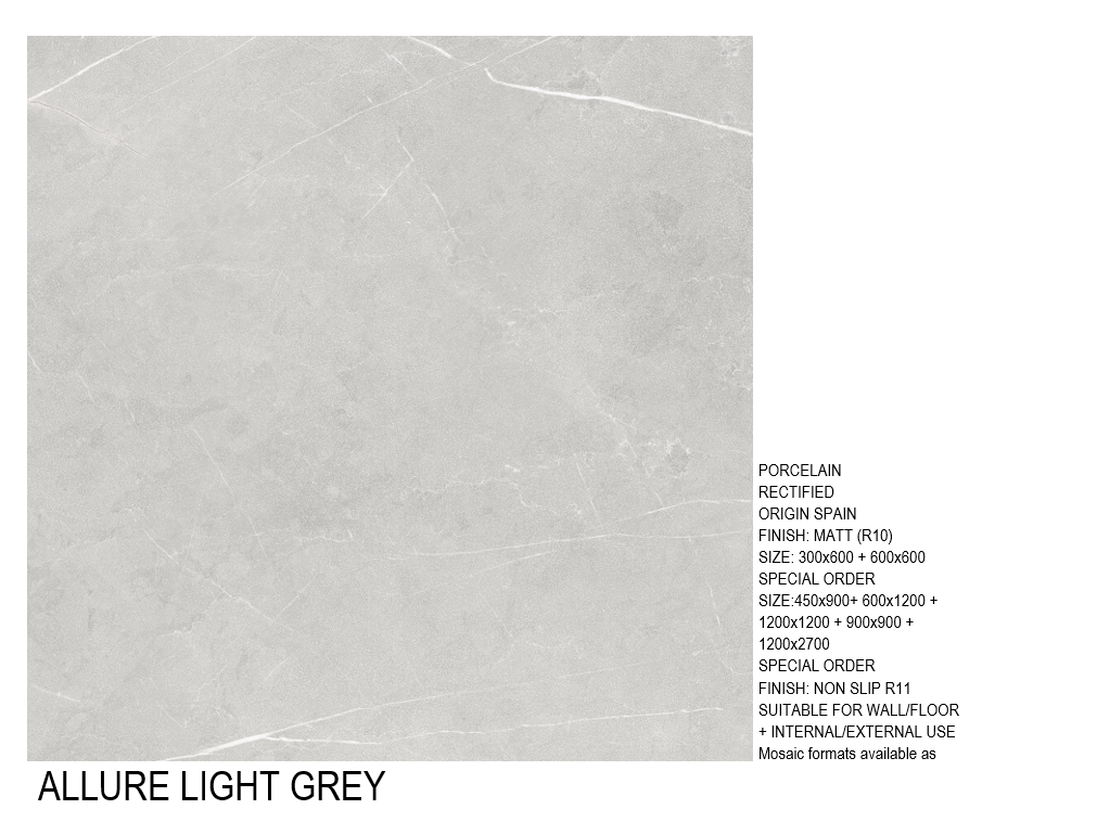 ALLURE LIGHT GREY