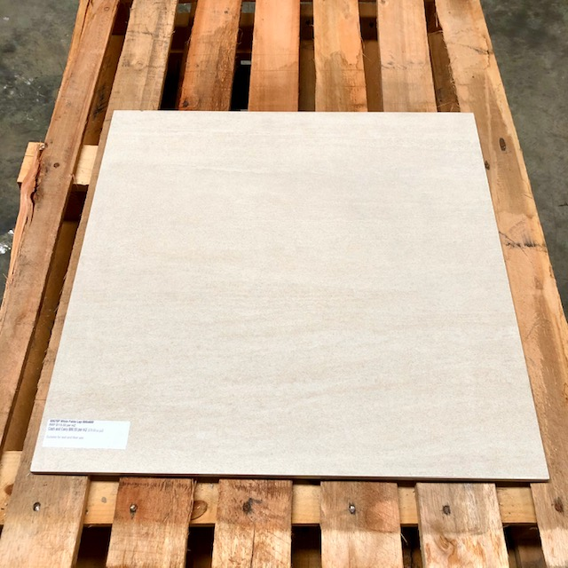 60670P  White Falda Lap  600×600 | Glazed Porc. Rect|$45 sqm PLUS Gst-Bch # 54H 24.84mtrs